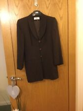 Principles Petite Lovely Brown Skirt Suit  Size 10  Euro 36 New