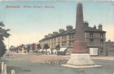 POSTCARD   ESSEX   BRENTWOOD   William  Hunter's   Memorial