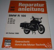Reparaturanleitung BMW R 100 / CS / RT / RS ab Baujahr Herbst 1980 Bucheli NEU!