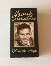 "VINTAGE  FRANK SINATRA ""RELIVE THE MAGIC"" 1994  VHS 2pc. BOX  SET"
