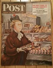 SATURDAY EVENING POST MARCH 12 1949 LONG RANGE BOMBERS CAFE COVER