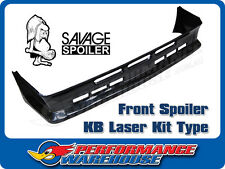 FRONT SPOILER KB LASER KIT TYPE MADE OF FLEXIBLE RESILIENT SUPER STRONG RONFALIN