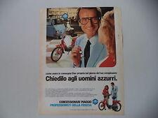 advertising Pubblicità 1982 PIAGGIO CIAO 50
