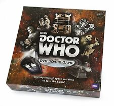 *NEW IN BOX* Dr Doctor Who 50th Anniversary DVD Board Game - 8 years plus