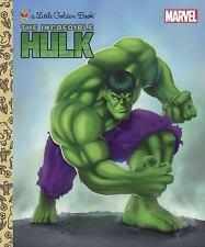 The Incredible Hulk (Marvel) (Little Golden Book), Wrecks, Billy, Good Book