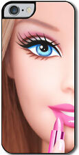 Cover per iPhone 6 e 6s con stampa Barbie inspired, fashion, moda, doll, makeup