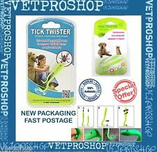 O'TOM TICK TWISTER - 2 PACK - Tick Remover for Pets - Cats Dogs Horses & Humans