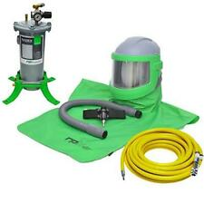 COMPLETE AIR FED SANDBLASTING HOOD NOVA 3 SYSTEM FOR SHOTBLASTING BASIC SYSTEM