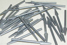 LEGO NEW LOT OF 30 FLAT SILVER SPEARS WEAPONS PIECES