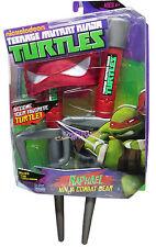 TMNT Teenage Mutant Ninja Turtles Raphel Combat Gear SAIS + Turtle Bandana