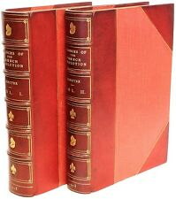 G. LENOTRE - Romances of The French Revolution - IN A FINE LEATHER BINDING!