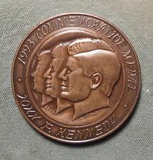John F Kennedy 1993 Commemorative Medal Dignity - Freedom 45mm Yantorno f.
