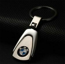 New style Silver Car Logo Creative Keychain Metal Key Chain Keyring Gift For BMW