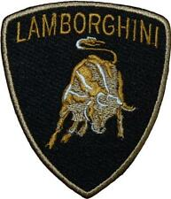 Lamborghini Logo F1 Motorsport Racing Badge Embroidered Patch 9cm