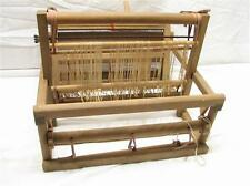"Vintage Wooden Table Top Hand Weaving Loom Small Work Tapestry 12"" Home Craft"