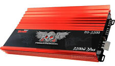 POWER ACOUSTIK D5-2200 5/3 CHANNEL 2200 WATT DEMON AMP CAR STEREO AMPLIFIER 2000