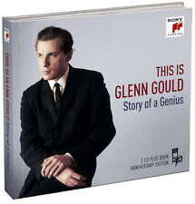 Glenn Gould - This is Glenn Gould: The Story of a Genius (CD 2 Discs + Book) NEW