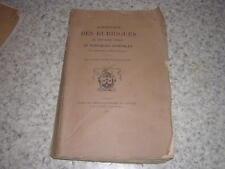 1893.abrégé des rubriques du bréviaire romain de l'ordre des carmes-déchaussés