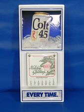 Colt 45 Malt Liquor Beer Calendar 1990 Advertising Vintage - NEW SEALED NOS
