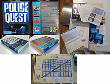 Police Quest: In Pursuit of the Death Angel: Apple Macintosh 1987 computer game
