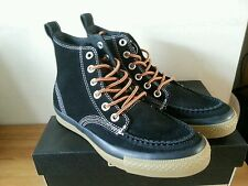 CONVERSE ALL STAR C.T HI LEATHER SUEDE BLACK UK Size 6