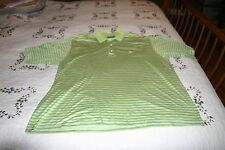 Masters Clubhouse Collection Polo Golf Shirt Size XL Made In Italy