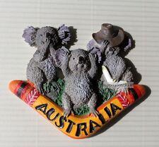SOUVENIR Australia / Australian Koala 3D Resin Fridge Magnet