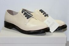 Brunello Cucinelli Women's Beige Leather Oxford Shoes 7 B