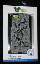DISNEY PARKS SKETCH MICKEY MOUSE iPhone 5 Case Screen Guard & Cleaning Cloth