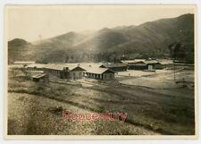 WW2 Photograph 1945 China Burma Road Ledo CBI GSS Headquarters & Living Quarters
