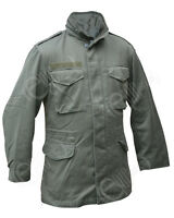 Austrian Army M65 COMBAT FIELD JACKET Olive Green Military Surplus - All Sizes