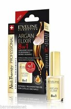Eveline Cosmetics Nail Therapy ARGAN ELIXIR 8 in 1 Regenerating Oil for