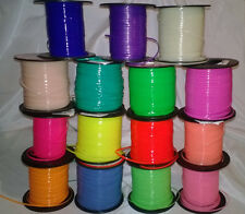 30 YDs Rexlace Gimp Plastic Lace ~ Neon & Glow WOW Colors~ 2 Yard of Each Color