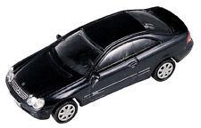 Mercedes-Benz CLK Coupe, dark blue met. - 1:87 / H0 Gauge - Model Power (19020)