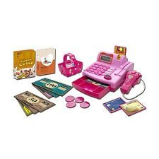 Toy Cash Register For Girls Electronic Educational Colored Play Set Baby Gift