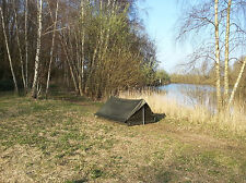 French Army F1 lightweight nylon commando tent in olive drab. *NEW*
