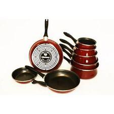 VITRINOR  Lot de 5 casseroles  3 poêles induction bordeaux A03 JG05C2 ST20 ST2