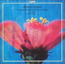 Vivaldi: Six Violin Concertos for Anna Maria Super Audio Hybrid CD (CD, Aug-200…
