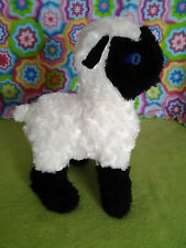 Black Face/Legs Lamb Standing Stuffed Animal Pattern for You to SEW