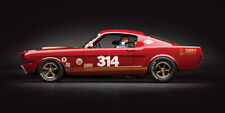 1966 FORD MUSTANG SHELBY GT350H CLASSIC RACE CAR POSTER PRINT 18x36 HI RES