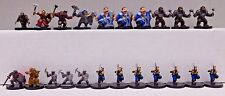 Dungeons and Dragons Miniatures DWARF & SVIRFNEBLIN LOT -19 D&D/Pathfinder Minis