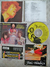 "JIMI HENDRIX ""ELECTRIC LADYLAND"" CD RARE JAPANESE WITH OBI POCP 2021 LYRICS"