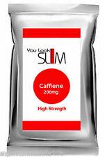 Caffeine YLS- High Strength Formula 60 Caps Diet Supplement Pills Foil SALE SALE