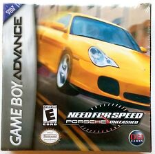 Need for Speed: Porsche Unleashed Nintendo Game Boy Advance, 2004 NEW Sealed SIB