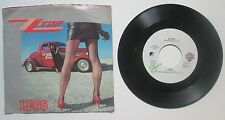 ZZ Top Legs b/w Bad Girl Picture Sleeve 45