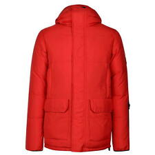 "Mens Karrimor K100 Gable Down Padded Hooded Coat Jacket Medium RED 40"" chest J43"