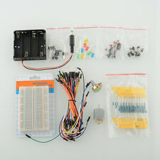 Electronics Project Starter Kit Capacitor Thermister Wires for Arduino Set