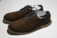 Mens Dark Brown Suede Lace up Rubber Sole Shoe UK Size 7-12