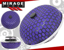 "3"" HIGH FLOW WASHABLE COLD AIR INTAKE MUSHROOM STYLE FILTER PURPLE VW GTI MK4"