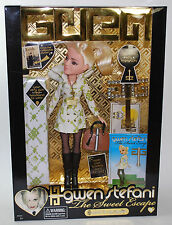 GWEN STEFANI The Sweet Escape wind it up gwen DOLL w Accessories